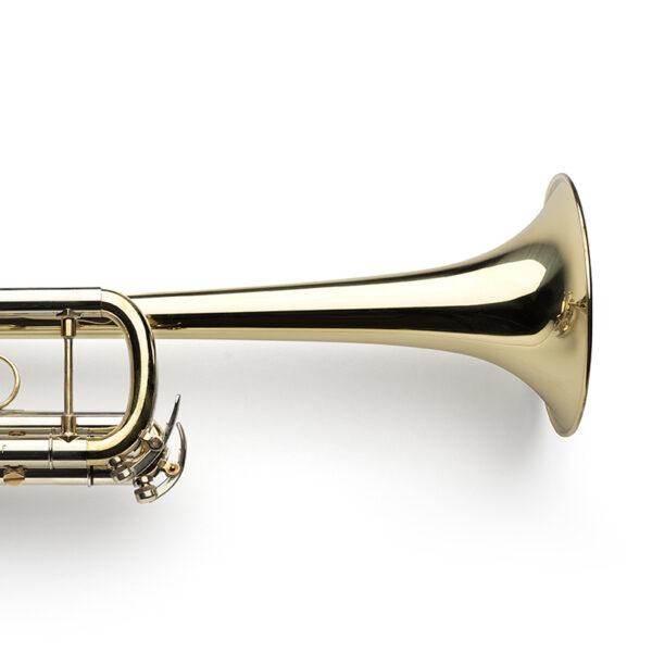 glossy, raw brass