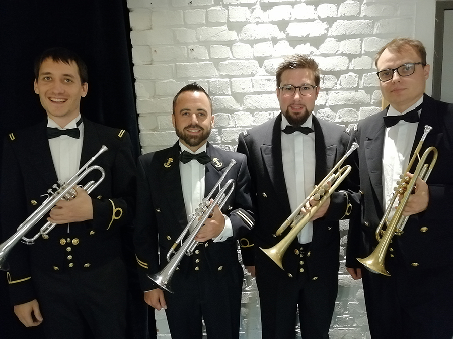 Maxime Wastiels, Loïc Dumoulin, Antoine Colin and Thomas Mayade