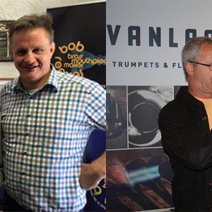 Howie Shear, Hub van Laar and Jon Lewis
