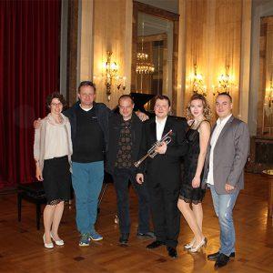 Heidrun, Hub, Tomislav, Andrei, Kristina en Darko | Balkan Tour 2017