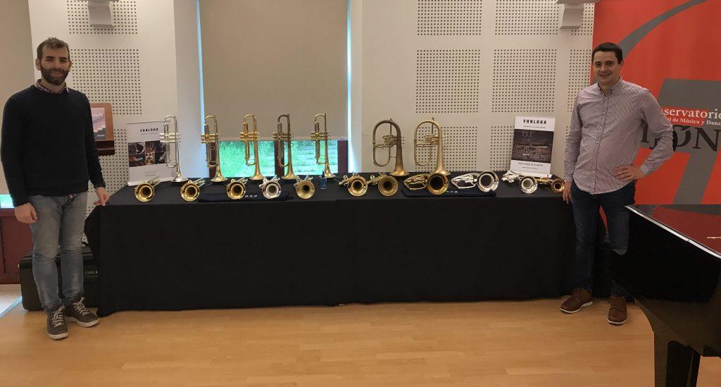 Exhibition Gijón   Trumpet teachers Iván Rodríguez & Gabriel Menéndez