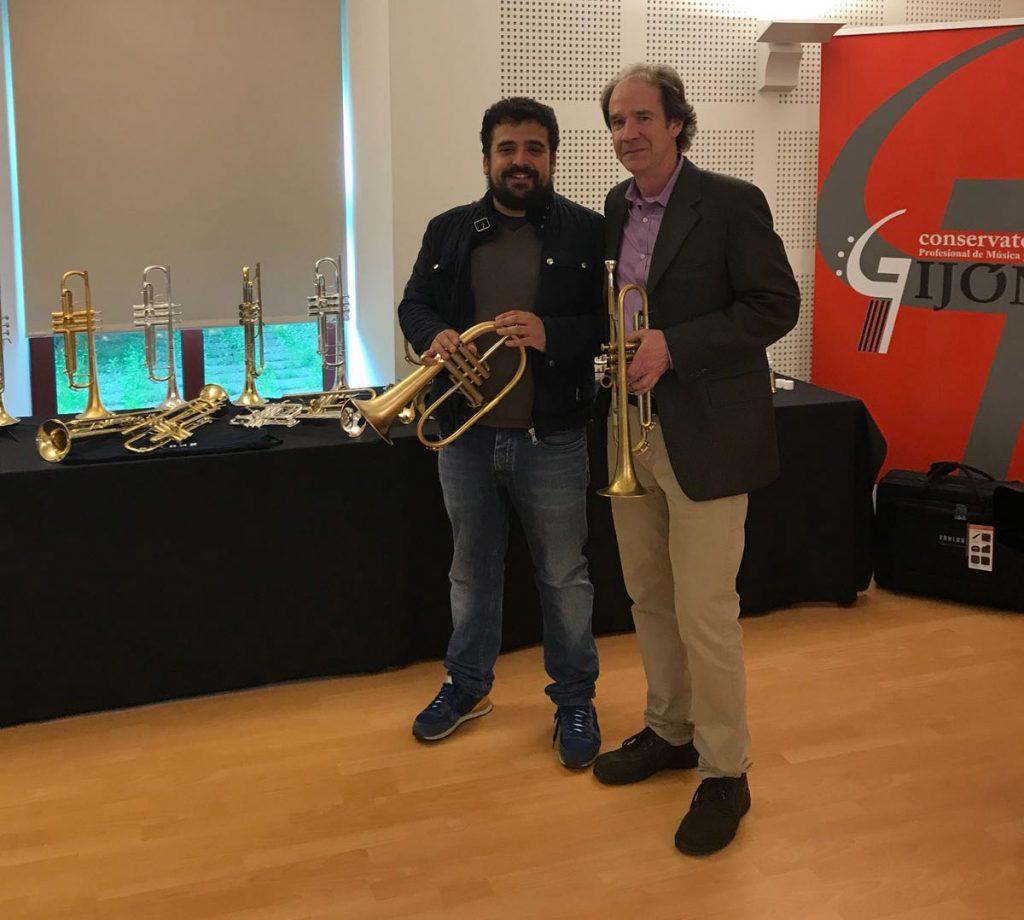 Exhibition Gijón   Pablo Camblor Garcia and Chris Kase