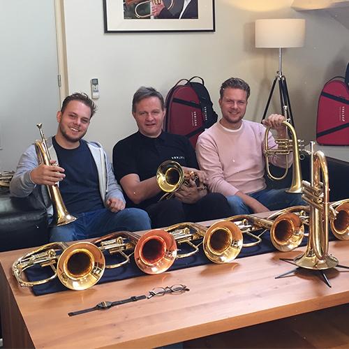 Dave Vreuls, Hub van Laar and Koen Smits