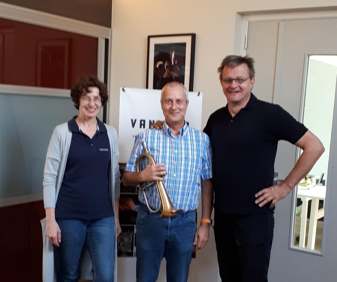 Heidrun Joechner, Phillip Stael and Hub van Laar