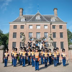 Regimentsfanfare Garde Grenadiers en Jagers
