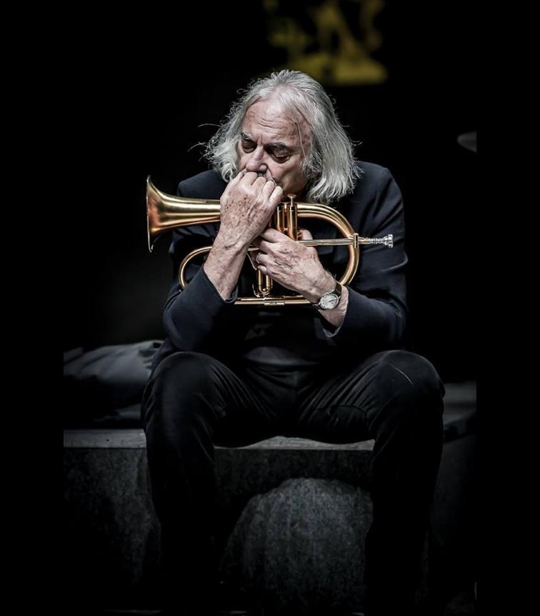 Enrico Rava | Picture by Roberto Cifarelli