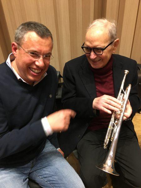 Nello Salza and Ennio Morricone