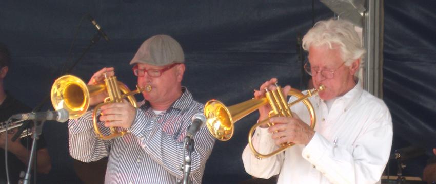 Hub Boesten and Ack van Rooyen Jazznight 2010 Roermond